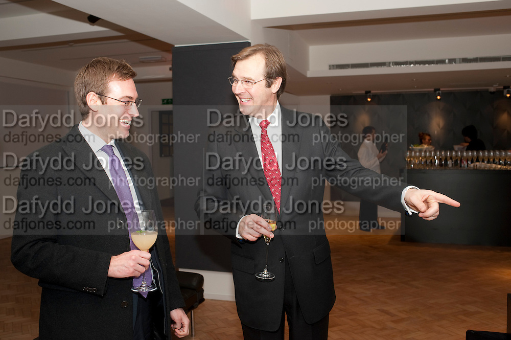 ROBERT BROOKS;-, Bonhams Auction house hosts festive drinks to preview the first phase of the reconstruction of its Mayfair Headquarters - due for completion in 2013.<br /> Bonhams, 101 New Bond Street, London, 19 December 2011.