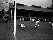 06/09/1961<br /> 09/06/1961<br /> 06 September 1961<br /> Soccer: League of Ireland v Scottish League at Dalymount Park, Dublin. The game ended in a 1-1 draw.