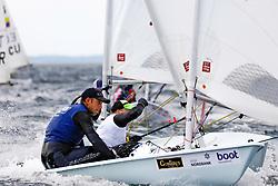 , Kieler Woche 16.06. - 24.06.2018, Laser Std. M - GBR 210427 - Daniel WHITELEY - Port Dinorwic_ Treddeur Bay
