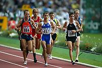 Friidrett, 23. august 2003, VM Paris,( World Championschip in Athletics),   Gert-Jan Liefers, Ned, Nederland, Mehdi Baala (457), Adrian Blincoe (1040)