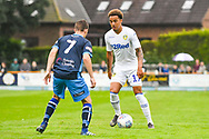 Leeds United Helder Costa (17) in action during the Pre-Season Friendly match between Tadcaster Albion and Leeds United at i2i Stadium, Tadcaster, United Kingdom on 17 July 2019.