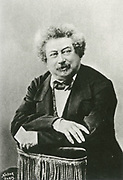 'Alexandre Dumas, pere (1802-1870) born Dumas Davy de la Pailleterie, French playwright and author of adventure novels such as ''The Three Musketeers'' and ''The Count of Monte Cristo''.'