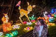 Magical Lantern Festival - a Christmas lights experience in Chiswick House Gardens from 24 November to 1 January, with hundreds of handmade, illuminated installations, unique grottos, rides and Christmas Markets.. London 23 Nov 2017