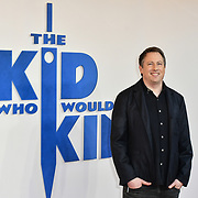 Joe Cornish Arrives at The Kid Who Would Be King on 3 February 2019 at ODEON Luxe Leicester Square, London, UK.