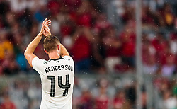 01.08.2017, Allianz Arena, Muenchen, GER, Audi Cup, FC Bayern Muenchen vs FC Liverpool, im Bild Jordan Henderson (FC Liverpool) // during the Audi Cup Match between FC Bayern Munich and FC Liverpool at the Allianz Arena, Munich, Germany on 2017/08/01. EXPA Pictures © 2017, PhotoCredit: EXPA/ JFK
