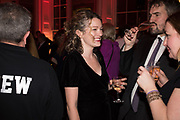 ANNA STOTHARD, CHARLIE CAMPBELL , Literary Review  40th anniversary party and Bad Sex Awards,  In & Out Club, 4 St James's Square. London. 2 December 2019