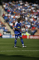 Photo: Pete Lorence.<br />Leicester City v Portsmouth. Pre Season Friendly. 04/08/2007.<br />Sean Newton during the match.