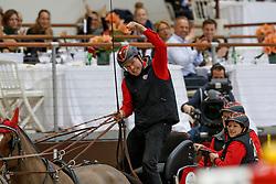 Voutaz Jerome, SUI, Belle du Peupe CH, Eva III CH, Folie Des Moulins CH, Leny CH, Leon<br /> FEI World Cup Driving presented by RTS<br /> CHI de Genève 2017<br /> © Hippo Foto - Dirk Caremans<br /> 10/12/2017