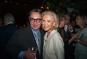 TOMASZ STARZEWSKI, AUDREY GRUSS, CARTIER CHELSEA FLOWER SHOW DINNER Dinner hosted by Cartier in celebration of the Chelsea Flower Show was held at Battersea Power Station. 22 May 2012