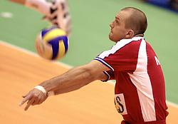 12-07-2000 VOLLEYBAL: WLV USA - JOEGOSLAVIE: ROTTERDAM<br /> Joegoslavie wint met 3-1 / Mijic, Vasa<br /> ©2000-FotoHoogendoorn.nl