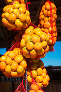 Oranges at a fruit stand along the Dalmatian Coast, Croatia