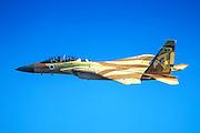 Israeli Air force (IAF) Fighter jet F-15I (Raam) in flight