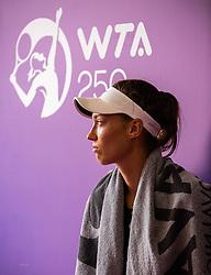 PORTOROZ, SLOVENIA - SEPTEMBER 18: Tereza<br /> Mihalikova of Slovakia during the double finals of WTA 250 Zavarovalnica Sava Portoroz at SRC Marina, on September 19, 2021 in Portoroz / Portorose, Slovenia. Photo by Nik Moder / Sportida