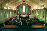 Rev. Maurice Blanchard delivers a guest sermon at Ridgewood Baptist Church  in Louisville, KY on Sunday August 11, 2018.