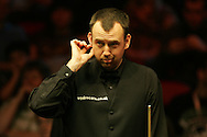 Mark Williams of Wales. Welsh Open Snooker at the Newport Centre, Feb 2009.