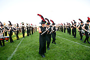 Shadow Armada performs at their dress rehearsal in Oregon, Wisconsin on June 20, 2013.