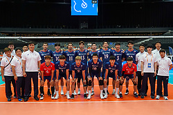 09-08-2019 NED: FIVB Tokyo Volleyball Qualification 2019 / Netherlands, - Korea, Rotterdam<br /> First match pool B in hall Ahoy between Netherlands - Korea for one Olympic ticket / Team Korea