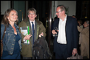 ROBERT HARDMAN; WILLIAM CASH, Launch of Rachel Kelly's memoir 'Black Rainbow' about recovering from depression with the help of poetry published by Hodder & Stoughton , ( Author proceeds will be given to the charities SANE and United Response ). Cafe of the National Gallery.  London. 7 May 2014