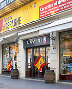 Lavinia wine shop, restaurant and bar - the biggest wine shop in Paris Paris, France.