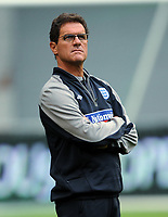 Fabio Capello Manager<br /> England 2009/10<br /> England Training Session in the Amsterdam Arena 11/08/09<br /> Photo Robin Parker Fotosports International