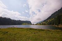 Golzernsee, Switzerland - looking toward Golzern.