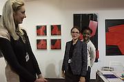 MONIKA Bialkowska; ELENA SHCHUKINA; JACQUELINE HARVEY, London Art Fair, Business Design Centre, Upper St. Islington. 19 January 2015