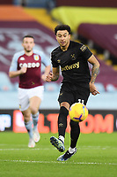 Football - 2020 / 2021 Premier League - Aston Villa vs West Ham United - Villa Park<br /> <br /> West Ham United's Jesse Lingard in action during this evening's game.<br /> <br /> COLORSPORT/ASHLEY WESTERN