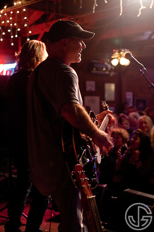 Chris Pelonis performs with Jeff Bridges at Maverick Saloon in Santa Ynez, California on June 23, 2011. Jeff Bridges' self-titled album is due for an August 16, 2011, release on Blue Note Records.