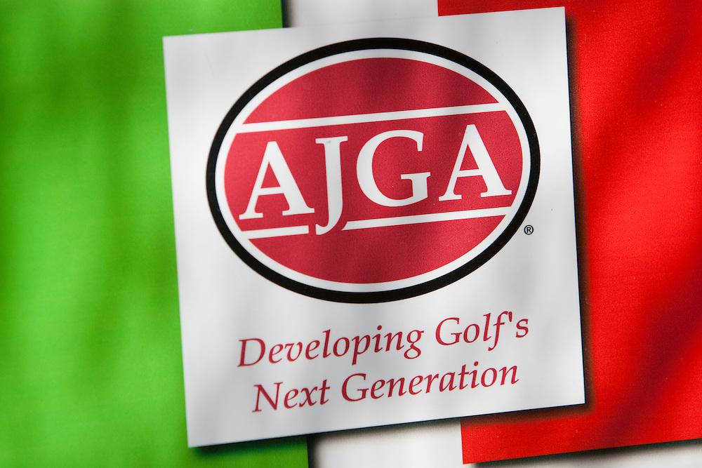 American Junior Golf Association logo.