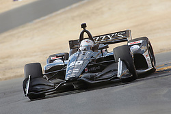 September 14, 2018 - Sonoma, CA, U.S. - SONOMA, CA - SEPTEMBER 14: Jordan King works his way thru the Turn 9A area during the Verizon IndyCar Series practice for the Grand Prix of Sonoma on September 14, 2018, at Sonoma Raceway in Sonoma, CA. (Photo by Larry Placido/Icon Sportswire) (Credit Image: © Larry Placido/Icon SMI via ZUMA Press)