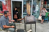 Armenie, province de Tavush, Idjevan, le marché // Armenia, Tavush province, Idjevan, market day