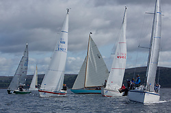 Largs Regatta Festival 2018<br /> <br /> Day 1- CYCA Class Four, Start<br /> <br /> Images: Marc Turner