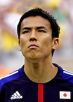 Fifa Brazil 2013 Confederation Cup / Group A Match /<br /> Brazil vs Japan 3-0  ( National / Mane Garrincha Stadium - Brasilia , Brazil )<br /> Makoto HASEBE of Japan , during the match between Brazil and Japan