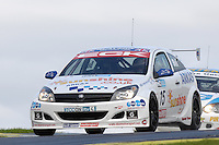 2008 British Touring Car Championship.  Knockhill, Scotland, United Kingdom.  16th-17th August 2008.  (15) - Martyn Bell (GBR) - Arkas Racing Vauxhall Astra Sports Hatch.  World Copyright: Peter Taylor/PSP. Copy of publication required for printed pictures. Every used picture is fee-liable.
