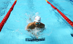 June 23, 2017 - Rome, Italy - Xiang Li (CHI) competes in Men's 100 m Breaststroke during the international swimming competition Trofeo Settecolli at Piscine del Foro Italico in Rome, Italy on June 23, 2017..Photo Matteo Ciambelli / NurPhoto  (Credit Image: © Matteo Ciambelli/NurPhoto via ZUMA Press)
