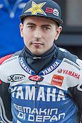 Jorge Lorenzo in Qualifying day