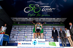 Winner Pascal Ackermann (GER) of Bora - Hansgrohe celebrates at trophy ceremony  during 1st Stage of 26th Tour of Slovenia 2019 cycling race between Ljubljana and Rogaska Slatina (171 km), on June 19, 2019 in  Slovenia. Photo by Vid Ponikvar / Sportida