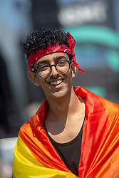 Vinicius Mello. Fans in the main arena on Friday 29th June at TRNSMT 2018.