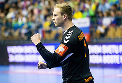 14-04-2019 SLO: Qualification EHF Euro Slovenia - Netherlands, Celje<br /> Bart Ravensbergen of Netherlands reacts during handball match between National teams of Slovenia and Netherlands in Qualifications of 2020 Men's EHF EURO
