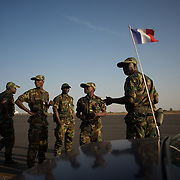 anuary 17, 2013 - Bamako, Mali: First group of forty five Togolese army men arrive at Bamako International Airport to take part in the international force deployed to Mali to defend the country against the islamists rebel groups advancing from the northern areas of the country. Several insurgent groups have been fighting a campaign against the Malian government for independence or greater autonomy for northern Mali, an area known as Azawad. The National Movement for the Liberation of Azawad (MNLA), an organisation fighting to make Azawad an independent homeland for the Tuareg people, had taken control of the region by April 2012.<br />