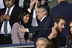 September 18, 2019, Paris, France, France: Anne Hidalgo - Maire de Paris et Florentino Perez - president  (Credit Image: © Panoramic via ZUMA Press)