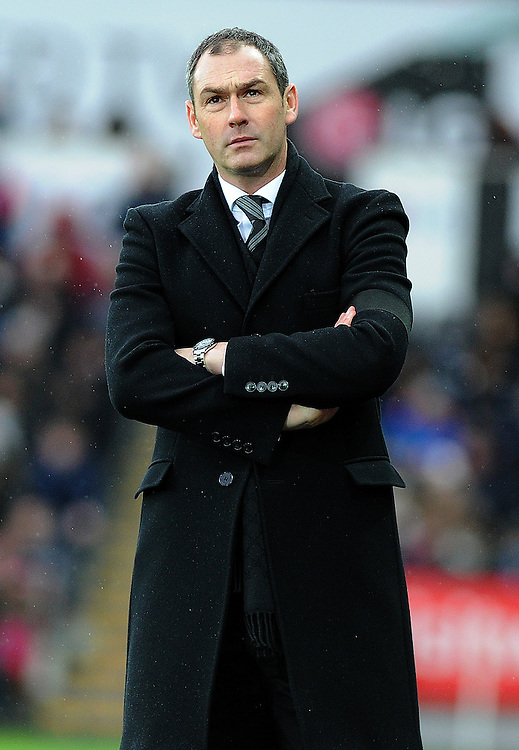 Swansea City manager Paul Clement  <br /> <br /> Photographer /Ashley Crowden CameraSport<br /> <br /> The Premier League - Swansea City v Arsenal  - Saturday 14th January 2017 - Liberty Stadium - Swansea <br /> <br /> World Copyright © 2017 CameraSport. All rights reserved. 43 Linden Ave. Countesthorpe. Leicester. England. LE8 5PG - Tel: +44 (0) 116 277 4147 - admin@camerasport.com - www.camerasport.com