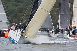 Day one of the Silvers Marine Scottish Series 2016, the largest sailing event in Scotland organised by the  Clyde Cruising Club<br /> Racing on Loch Fyne from 27th-30th May 2016<br /> GBR9740R, Sloop John T, Iain & Graham Thomson, CCC, Swan 40<br /> <br /> <br /> Credit : Marc Turner / CCC<br /> For further information contact<br /> Iain Hurrel<br /> Mobile : 07766 116451<br /> Email : info@marine.blast.com<br /> <br /> For a full list of Silvers Marine Scottish Series sponsors visit http://www.clyde.org/scottish-series/sponsors/