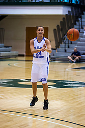 20 June 2009: Lindsay Buckert.  Illinois Basketball Coaches Association 1A-2A Girls All Star game.