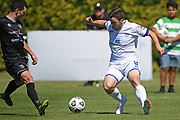 Hamilton Wanderers Jordan Lamb on attack in the Handa Premiership football match, Hawke's Bay United v Hamilton Wanderers, Bluewater Stadium, Napier, Sunday, November 15, 2020. Copyright photo: Kerry Marshall / www.photosport.nz