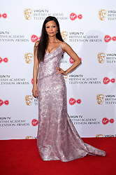 Thandie Newton in the press room at the Virgin TV British Academy Television Awards 2017 held at Festival Hall at Southbank Centre, London. PRESS ASSOCIATION Photo. Picture date: Sunday May 14, 2017. See PA story SHOWBIZ Bafta. Photo credit should read: Ian West/PA Wire