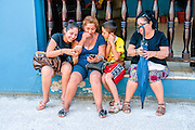 Cuba, Camaguey. Internet connection is available in the city squares