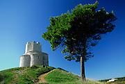 Saint Nicholas (Sveti Nikola) Church in the Prahulje field near Nin, Croatia