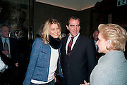 TATIANA BLATNIK; PRINCE NIKOLAOS OF GREECE; CAROLINA HERRERA;, Graydon and Anna Carter host a lunch for Carolina Herrera to celebrate the ipening of her new shop on Mount St. .The Connaught. London. 20 January 2010