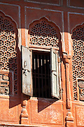 The harem Zenana Deorhi at The Maharaja of Jaipur's Moon Palace  in Jaipur, Rajasthan, India